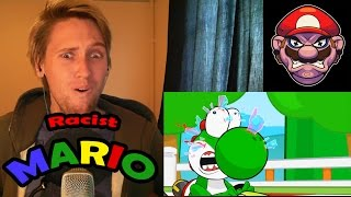 REACTION to Racist Mario! | TOTAL WTF MODE!!! |
