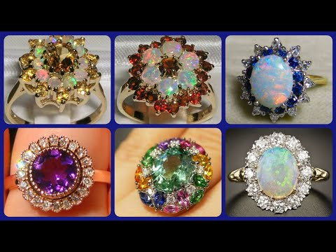 Top 50 Different Gemstone And Diamond Gorgeous Engagement Rings Ideas
