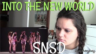 GIRLS' GENERATION - Into the New World LIVE Reaction |BALLAD| - Stafaband