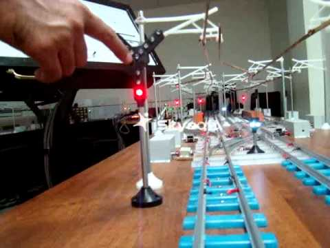 Rail Signalling Working Model - VIII