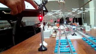 Rail Signalling Working Model - VIII
