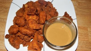 How to Make Chicken Nuggets - T-Fal Actifry Air fryer