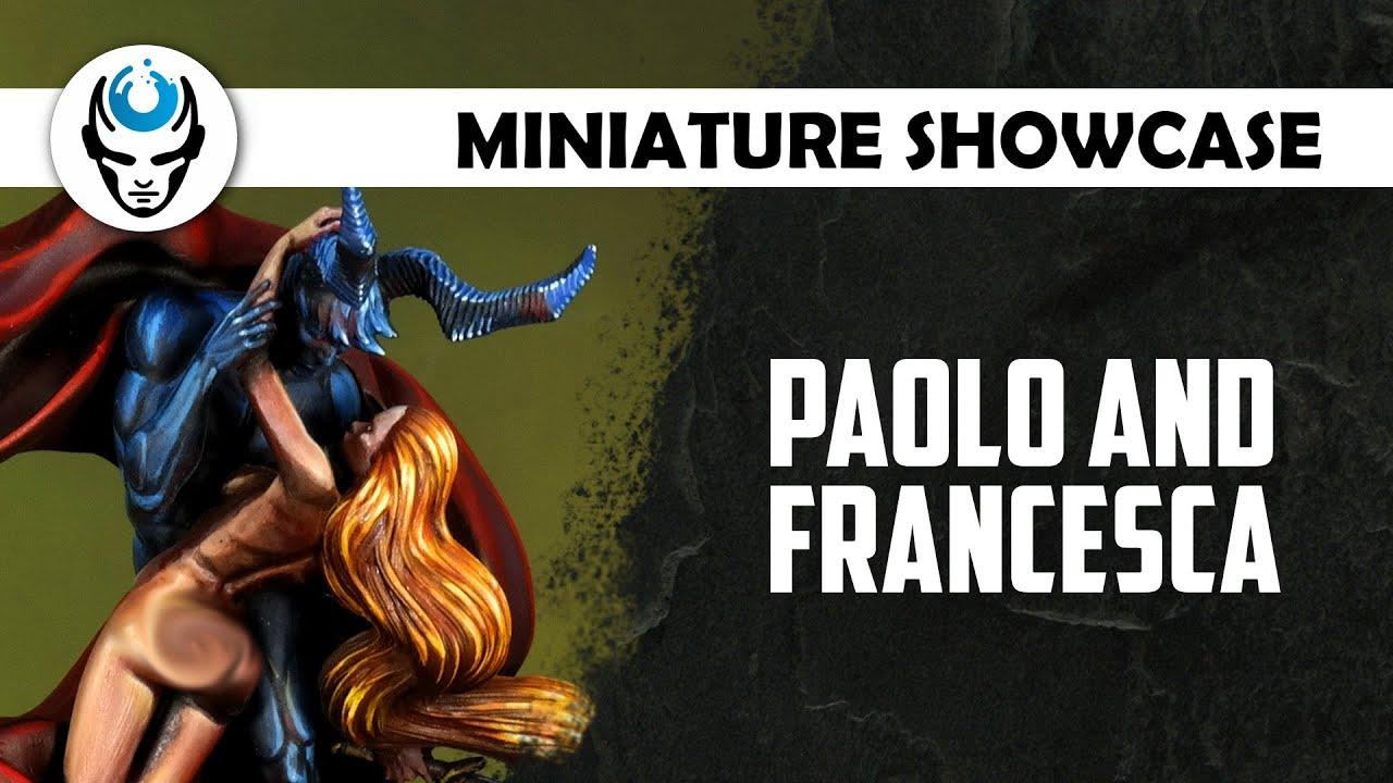 PAOLO AND FRANCESCA - ARADIA MINIATURES - LVL 6 SHOWCASE 4K