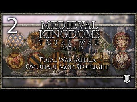 Defend the City! | Medieval Kingdoms: Total War - 1295 A.D. #2 - Attila Mod