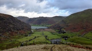 Red Screes & Stony Cove Pike, Lake District - 11 December 2015
