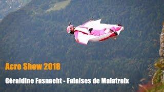 Acro Show 2018 - Geraldine Fasnacht - Falaises de Malatraix