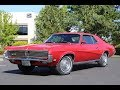 1969 Mercury Cougar XR7 Drive Video