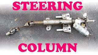 How a Steering Column Works