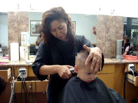 Paladins First Military Haircut Youtube