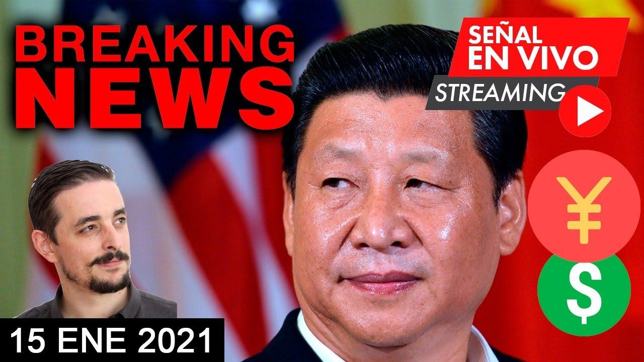 CHINA PLANEA APODERARSE DE TODAS LAS MONEDAS DEL MUNDO | NOTICIAS 15 ENERO 2021 | MR SANTOS