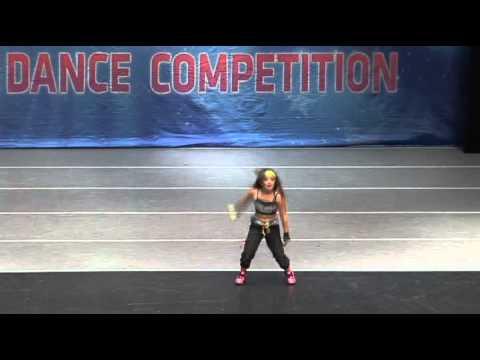 8 year old girl hip hop/b-girl dancing - YouTube
