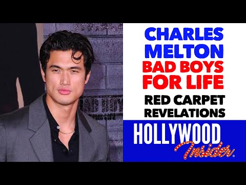 'bad-boys-for-life'---'red-carpet-revelations'-with-charles-melton-during-red-carpet-premiere
