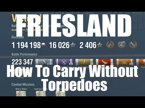 Friesland - Carrying Without Torpedoes