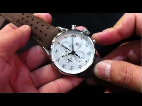tag heuer slr calibre s setting instructions