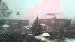 Blizzard morning of 5th February 2013 Clowne (2)