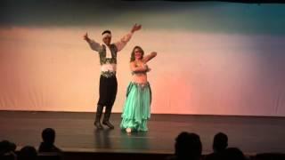 Duo Gabriel Diniz e Barbara Zank  Concurso CIAD 23/03/14