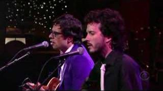 Flight of The Conchords on Letterman