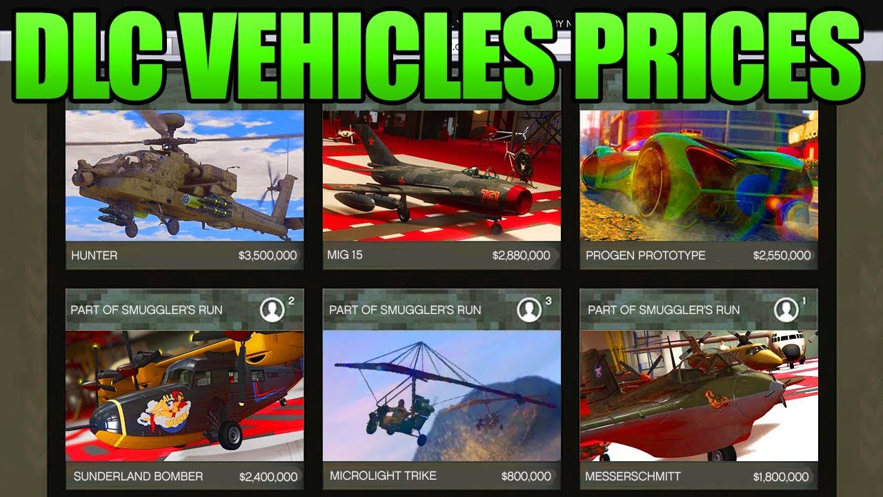 gta 5 doomsday update prices