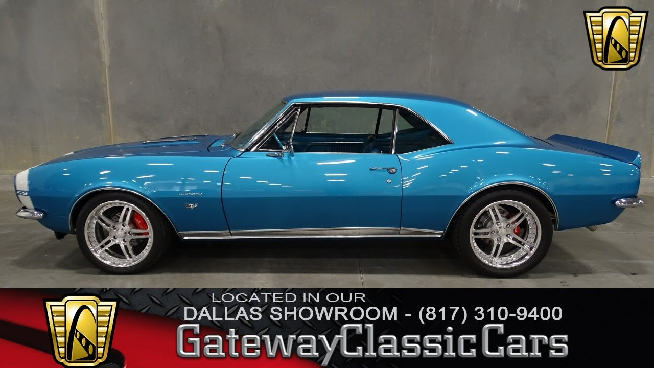 1967 Chevrolet Camaro RS Restomod Stock #108 Gateway Classic Cars of ...