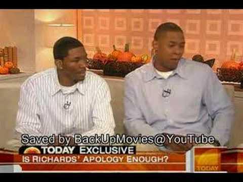 (Kramer) Michael Richard Call a group of blacks Nigger (vide