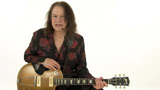 Robben Ford Blues Guitar Lesson - Track 5: Bobby's Blues - Three Soloing Ideas: Demo