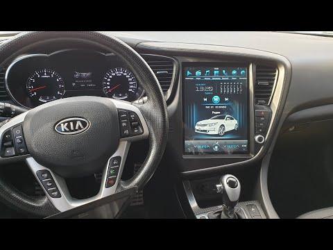 Магнитола в стиле Тесла для Kia Optima