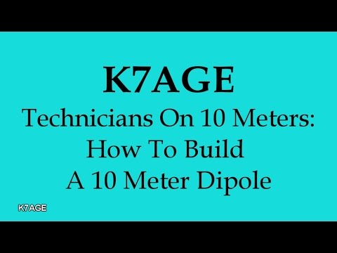 How To Build A 10 Meter Dipole
