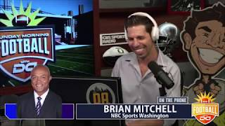 David Mitchell from NBC Sports Washington joins D.A. on Sunday Morning Football