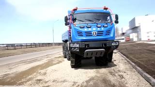 Новый вездеход КАМАЗ 5350 «Арктика» впечатлил даже...
