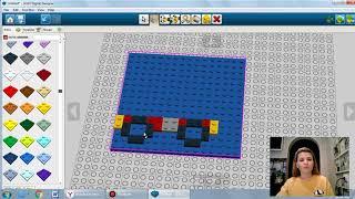 Порозова О В. Роботоконструирование.  Пожарная машина в программе Lego Designer.