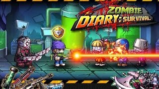 Zombie Diary Android Gameplay #DroidCheatGaming screenshot 1