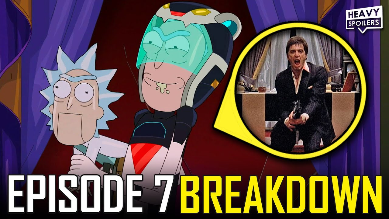 RICK AND MORTY Season 5 Episode 7 Breakdown | Easter Eggs, Things You Missed And Ending Explained