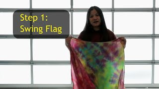 How to Use Swing Flags | Worship & Praise Flags Teaching CALLED TO FLAG banners ft Claire