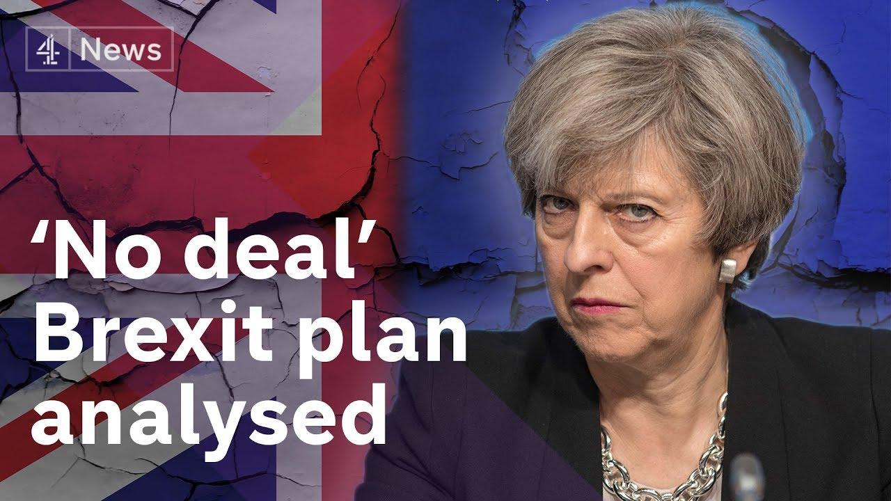 Brexit 'No Deal' plan revealed & explained