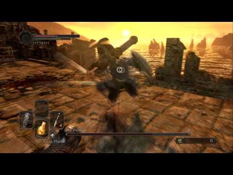 Dark Souls 2 Forest of Fallen Giants Boss The Pursuer