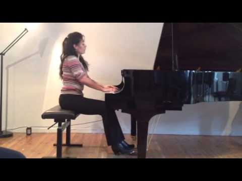 "Liszt- Transcendental Etude No. 12 ""Chasse -Neige"""