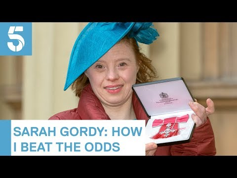 Sarah Gordy marks World Down's Syndrome Day   5 News