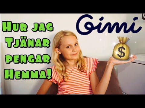 Så tjänar jag enkelt pengar hemma 💰 Samarbete med GIMI