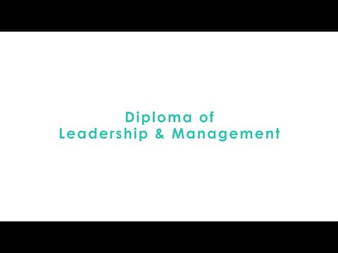 DIPLOMA IN LEADERSHIP & MANAGEMENT - IAN AIRD