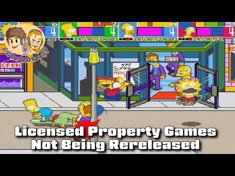 Licensed Property Games Not Being Rereleased - #CUPodcast