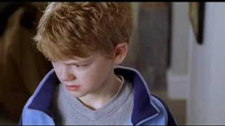 Thomas Sangster & Liam Neeson in Love Actually