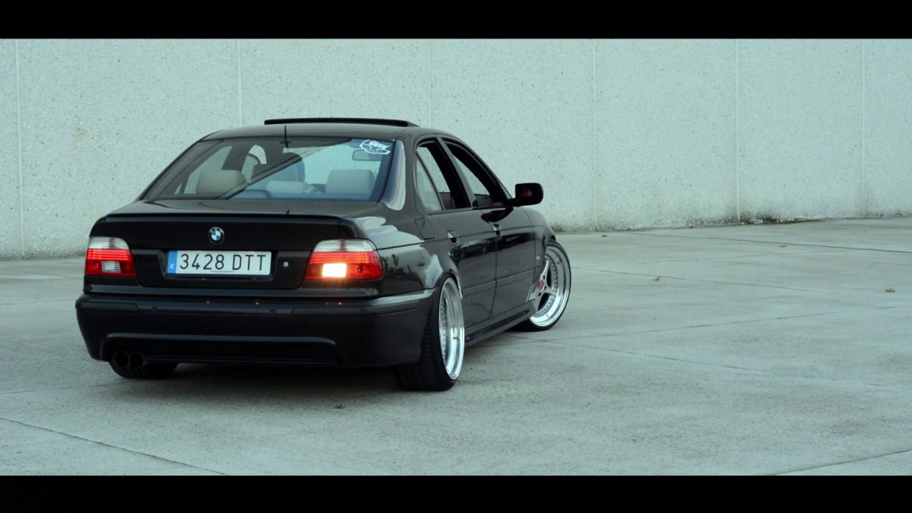 oscar 39 s bmw 540i e39 stance youtube. Black Bedroom Furniture Sets. Home Design Ideas