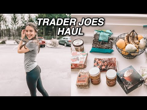 Healthy Trader Joes Haul | Gluten Free Quarantine Snack Ideas