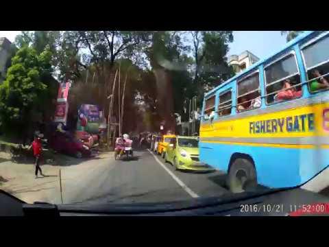 From Barasat (Helabattala) To Barrackpore (Wireless Gate) - Dash Cam Video (1080p 60fps)