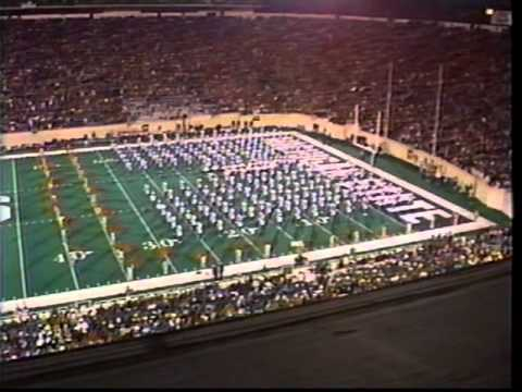 Spartan Marching Band's 1999 Y2K Halftime Show