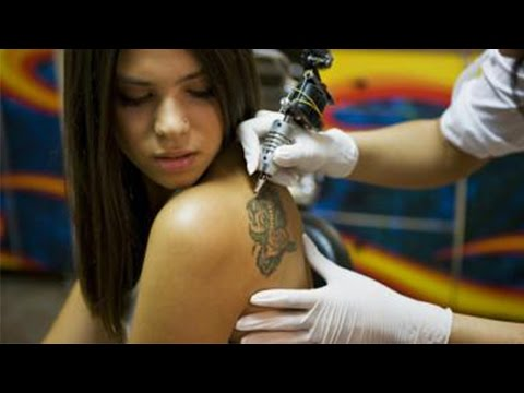 Red Tattoo Ink Cancerous