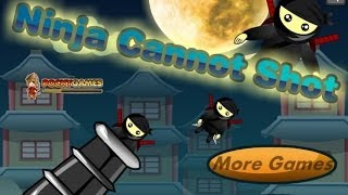 Ninja Cannon Shot Level1-16 Walkthrough