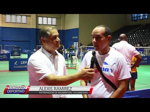 BADMINTON ENTREVISTA A CHINA YIEN MEN Y CUBANO ALEXIS RAMIREZ en SANTO DOMINGO OPEN 2019