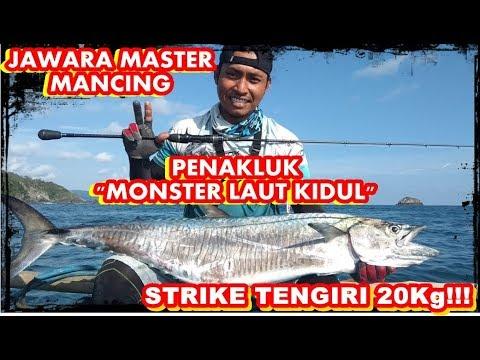 """jawara-mancing-ikan-""""monster""""-strike-tengiri-20kg---pantai-laut-selatan"""