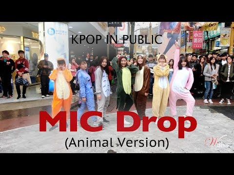 [KPOP IN PUBLIC CHALLENGE] BTS 방탄소년단 - MIC Drop Dance Cover By WISHES(Animal Version)